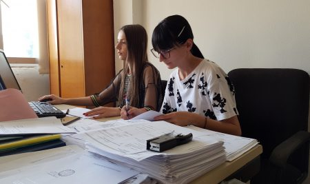 Students of the Faculty of Law in Lukavica experience practices in the Tax Administration of the Republic of Srpska!
