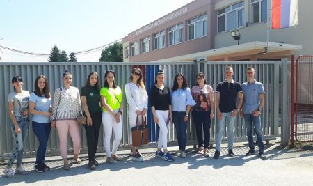 Group of students of the Faculty of Law in Lukavica visited the Criminal Disciplinary Institution in the East Sarajevo