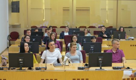 Law Faculty Students from Lukavica visited the Court of BiH
