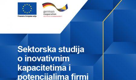 Sektorska studija o inovativnim kapacitetima i potencijalima firmi