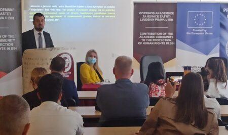 """U Tuzli održano treće javno predstavljanje rezultata ,,Studije mapiranja institucionalnog kršenja ljudskih prava u Bosni i Hercegovini"""""""